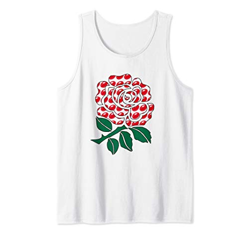 - England Rugby Ball Training Jersey English Rose Gift Top Tank Top