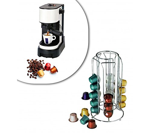 Stand per capsule caffè 30 posti portacapsule in metallo 4 colonne design moderno 726104 MWS MEDIAWAVE Store