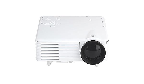 Meyoung Mini proyector portátil para juegos y cine en casa GP7S ...