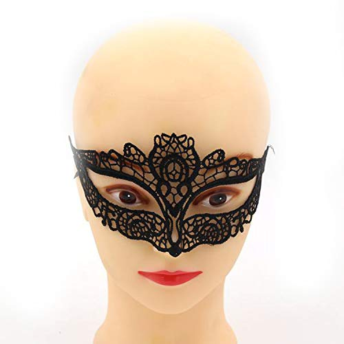 1PCS Hot Sales Black Sexy Lady Lace Mask Cutout Eye Mask for Masquerade Party Fancy Dress Costume/Halloween Party Fancy,Owl