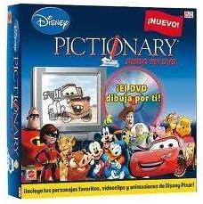 Mattel Pictionary Disney DVD: Amazon.es: Juguetes y juegos