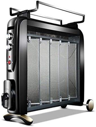YD 電気ヒーターシリコン結晶対流ヒーター4電源過熱保護垂直2500Wブラック /&
