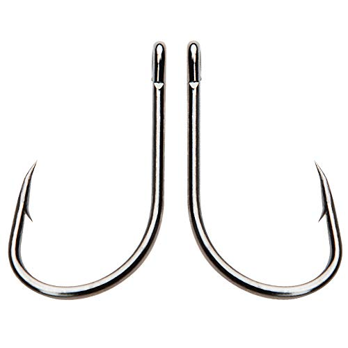 Circle Carp Live Bait Hook - Lots High Carbon Steel Barbed Fishing Hooks Freshwater Saltwater Fishhooks No. 9260 Size 2/0-8/0 in 100pcs - Live Bait Circle