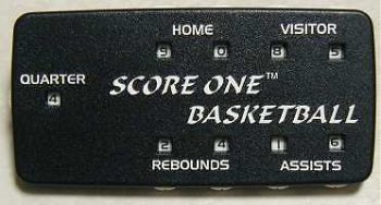 Score One Basketball Scorekeeper with Clip