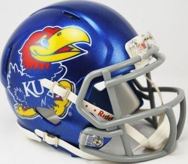 Kansas Jayhawks Helmet - 3