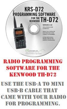 Kenwood TH-D72 Two-Way Radio Programming Software by RF Gear 2 Go