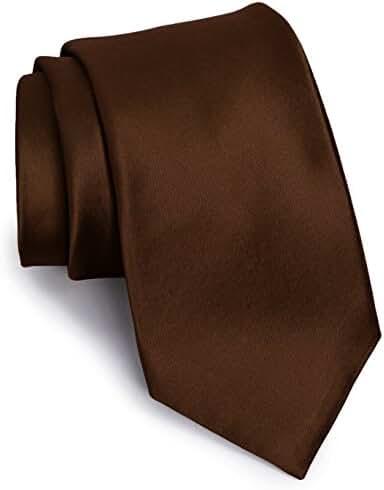 Men's Ties - Neck Tie - Silk Ties for Men - Wedding Ties for Men - Solid Colors by CoverYourHair