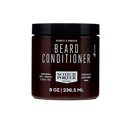 Scotch Porter - Hydrate & Nourish Beard Conditioner - 8 oz. (Best Conditioner For Straw Like Hair)