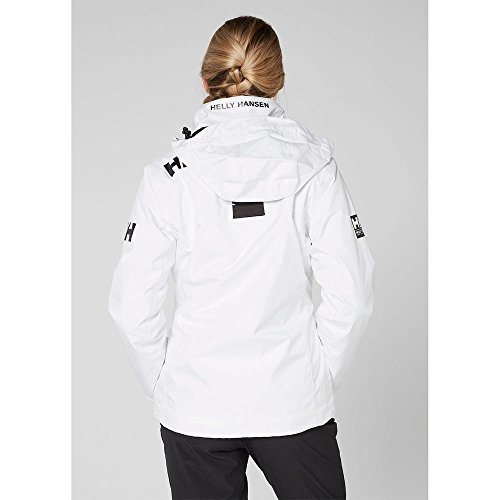Hansen Donna Helly Crew Giacca W Bianco Hooded Midlayer Jacket fd0Edxwr