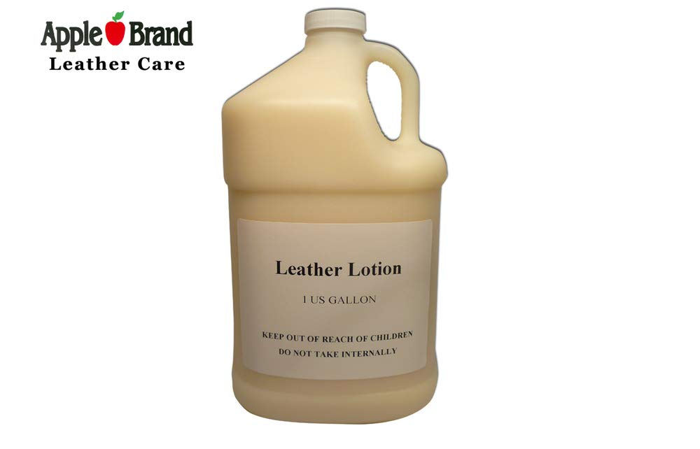 Apple Brand Leather Lotion Gallon