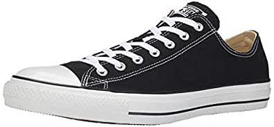 Converse Womens Unisex-Adult CONV-1J794C Chuck Taylor All Star Canvas Low Top Black Size: 3