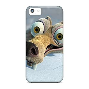 Cute Appearance Cover/tpu DRs2692ojDm Ice Age Scrat Case For Iphone 5c