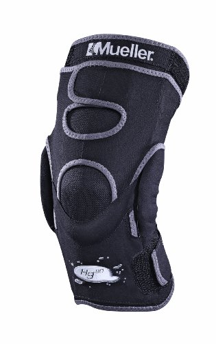 Mueller Hg80 Hinged Knee Brace, Large, Black