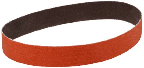 3M Cloth Belt 777F, 1-1/2'' Width x 60'' Length, P120 Grit, Orange (Pack of 50) by 3M