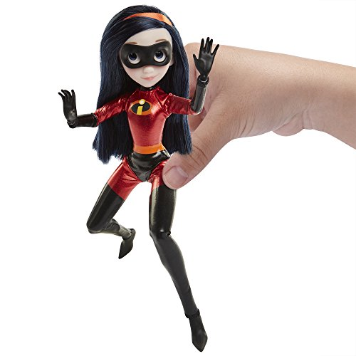"The Incredibles 2 Violet Action Figure 11"" Articulated Doll in Deluxe Costume and Mask"