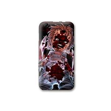 Cokitec Case Carcasa Wiko Jerry Horror - Chucky Noir: Amazon ...