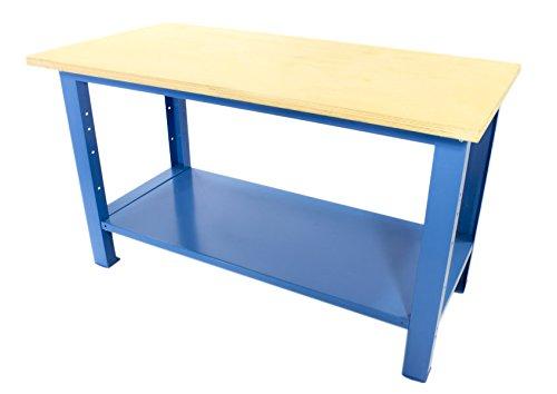 Tavolo Da Lavoro Grande : Banco da lavoro con piano in legno serie industria