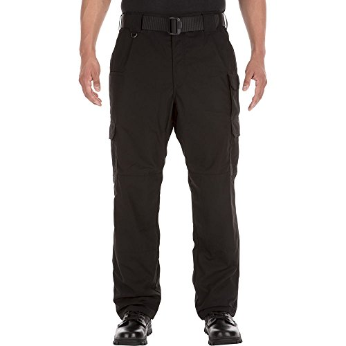 Flannel Lined Taclitepant Black 34-32 (5.11 Tactical Cotton Work Pants)