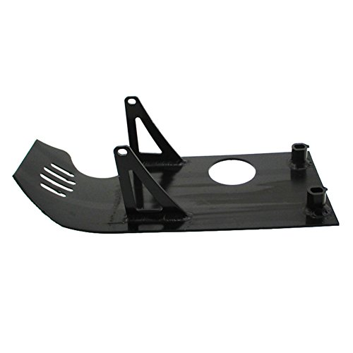 - TC-Motor Black Aluminum Engine Skid Plate For Dirt Pit Bike XR50 CRF50 90cc 110cc 125cc 140cc Lifan YX SSR Thumpstar Coolster Taotao