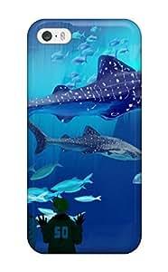 For Iphone 5/5s Fashion Design Drawing Aquarium Case-NIWjrxh8940cUDdT Sending Screen Protector in Free