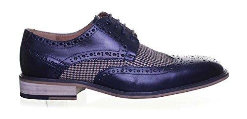 Gerard lacets ville à Reece Justin Navy de D14 pour homme Chaussures 4Znx5xwp