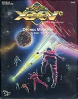 Deimos Mandate (Buck Rogers RPG module XXVCA3)