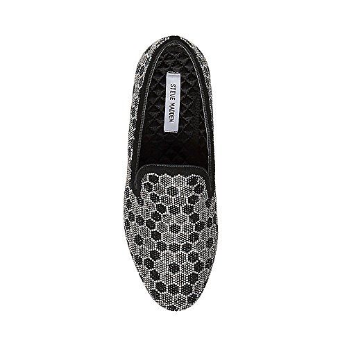buy cheap low price fee shipping professional cheap online Steve Madden Men's Caspian Loafer Black Silver cheap sale brand new unisex pictures sale online mlmPI