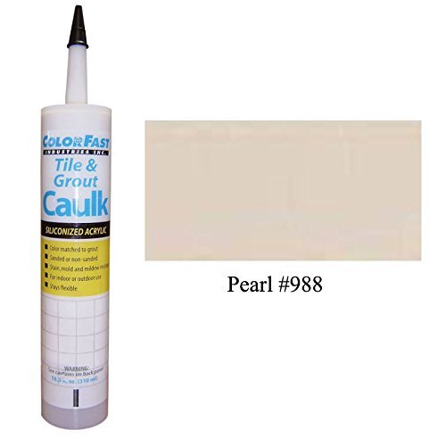 TEC Color Matched Caulk by Colorfast (Unsanded) (988 Pearl)
