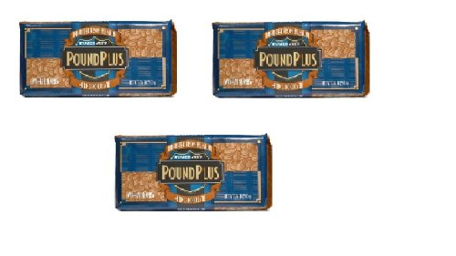 Trader Joes Pound Plus Milk Chocolate with Almonds 17.6 Oz. (3 Pack)