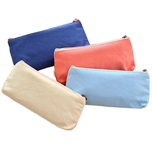 (Luweki Lovely Cute Pencil Pen Case Bag Pounch Cosmetic Makeup Bag Case)