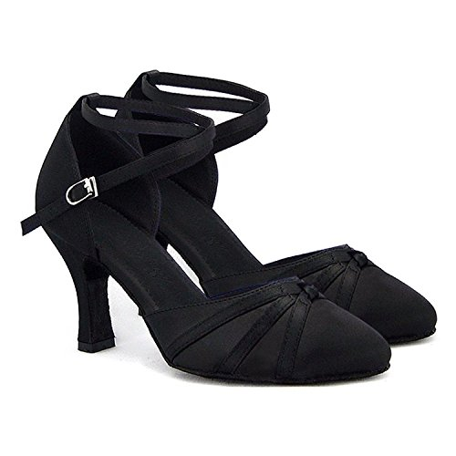 à Chaussures Lady pour SU026 la SUKUTU fermés talons de Tango Salsa Latin danse soirée de danse Chaussures à wxYvqtZHaA