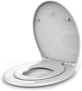Familien WC Sitz Toilettendeckel Toilettensitz Abnehmbar Kindersitz Klodeckel