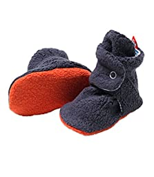 Cozie Booties (12m,navy/peri candy)