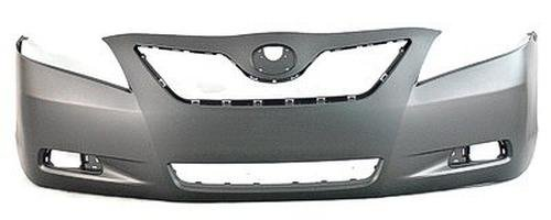 CPP Primed Front Bumper Cover Replacement for 2007-2009 Toyota Camry