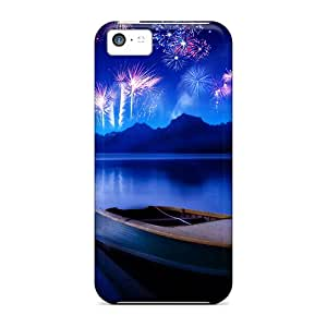Awesome Design Celebrate New Years Eve Hard Case Cover For Iphone 5c