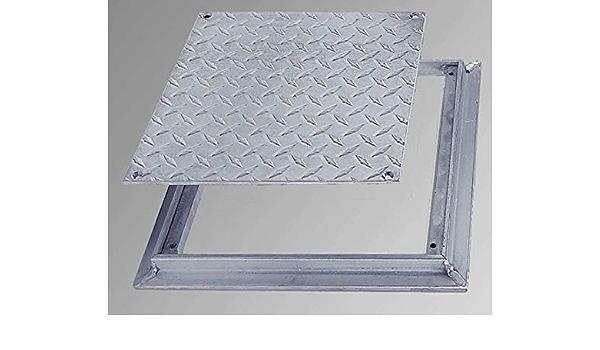 Best 12 X 12 Removeable Flush Floor Door Diamond Plate Garden Outdoor