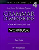 Grammar Dimensions : Form, Meaning and Use, Larsen-Freeman, Diane and Parulis, Gene, 0838402917