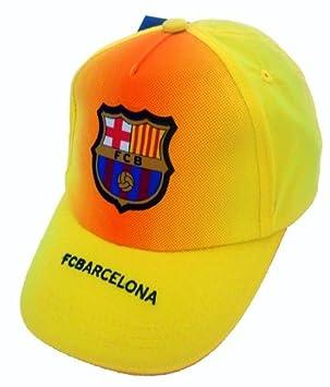 Barcelona F.C. - Gorra para adulto, diseño silueta gorro - oficial del FC Barcelona: Amazon.es: Deportes y aire libre