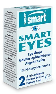 Supersmart MrSmart - optical health - Smart Eyes - Contents: 2 bottles de 5 ml. in one box (4 cm x 8 cm x 2 cm) (Flacon Bottle)