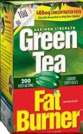 200 Green Tea Fat Burner 400mg EGCG Weight Loss Pills Applied Nutr.200 Softgels by Applied Nutrition