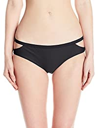 RVCA Women's Solid Medium Bikini Bottom
