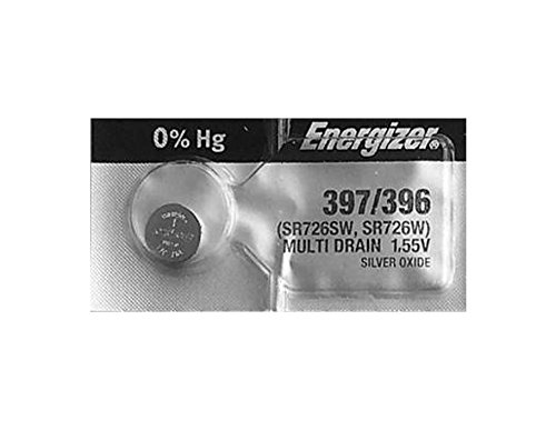 Energizer Silver Oxide Watch Battery For Energizer 397/396 Button Cell (Best Price For Junk Silver Coins)