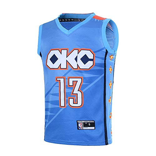 882f1ac7eb7 Outerstuff Youth 8-20 Paul George  13 Oklahoma City Thunder Jersey