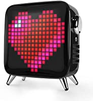 Divoom Tivoo Max Smart Portable Bluetooth LED Speaker with APP-Controlled Pixel Art Animation, Notification an