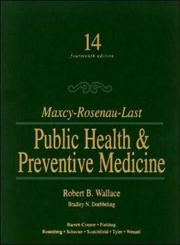 Maxcy-Rosenau-Last Public Health & Preventive Medicine - http://medicalbooks.filipinodoctors.org