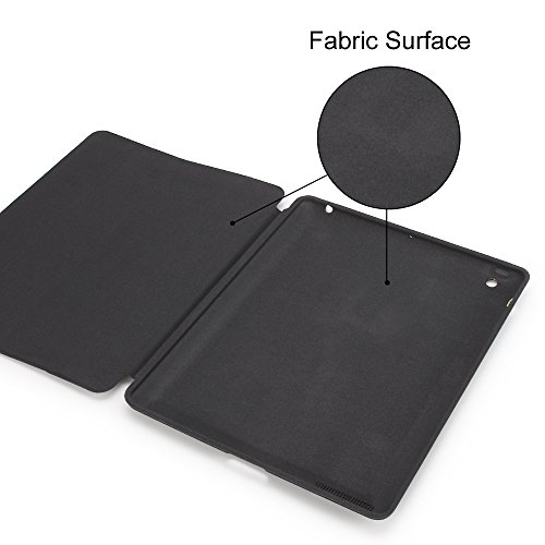 GOLP iPad 4 Case, iPad 3 Case, iPad 2 Case, iPad Protective Case Folding Lightweight iPad Bumper Cover With Sleep Wake Function And Hard Back Stand For Apple iPad 2/3/4 - Dark Blue Photo #2