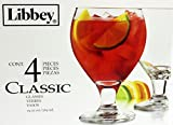 Libbey Classic Sangria Beer Glass, 19.25 Ounce - 4 Count
