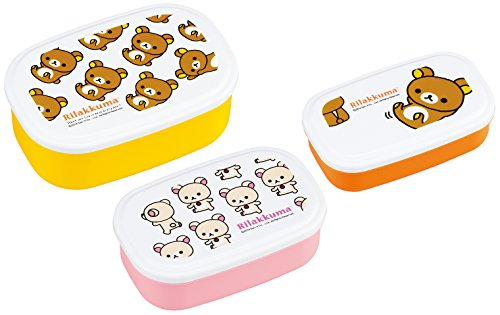 Rilakkuma (NO.3) sealed container 3P set SP-31