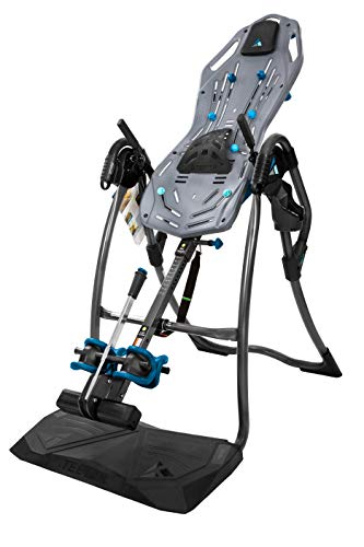 Teeter FitSpine LX9 Inversion Table, 2019 Model, Deluxe Easy-to-Reach Ankle Lock, Back Pain Relief...
