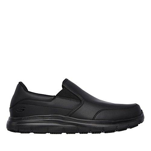 Flex Hommes Black Chaussures Skechers Bronwood 77071ec Advantage Work Sr wHTtg7Aq